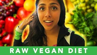 Download Trying The RAW VEGAN DIET For A Week 🥕 (No animal products or cooked foods) Video