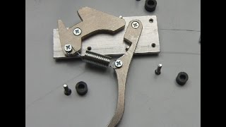 Download How to make a crossbow trigger / lock (simple but sturdy) Video
