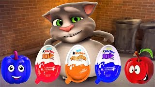 Download Talking Tom Cat - Tom Cat And Friends - Series Interesting Meal - Fun Video For Kids Episodes 46 Video
