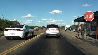 Download BORDER PATROL CHECKPOINT, HWY 277, EAST OF EAGLE PASS, TEXAS Video