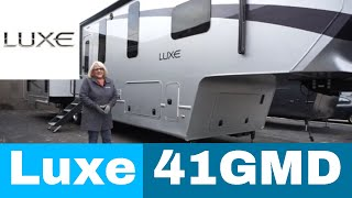 Download Luxe Gold 41GMD - full time fifth wheel Video