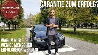 Download GARANTIE ZUM ERFOLG?! Warum nur wenige Menschen erfolgreich werden! |DAY #049 Video