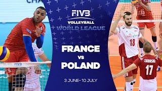 Download FIVB - World League: France v Poland highlights Video