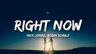 Download Nick Jonas, Robin Schulz - Right Now (Lyrics) Video
