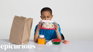 Download Kids Try 100 Years of Brown Bag Lunches from 1900 to 2000 | Bon Appetit Video