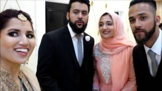 Download Vlog | Mohammed and Hiba's Walima - Wedding Highlights | Fictionally Flawless Video