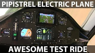 Download Test ride in Pipistrel electric plane Video