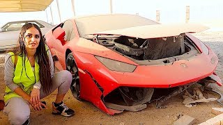 Download BUYING A CRASHED LAMBORGHINI IN DUBAI !!! Video