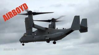 Download V-22 Osprey Demonstration - Farnborough Airshow Video