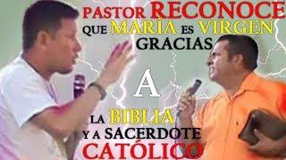 Download Pastor Reconoce que María es Virgen Gracias a la Biblia y a Sacerdote Católico Video