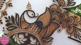 Download Peacock henna/mehendi design| Henna tutorials, classes and lessons by Devaky S Dharan Video