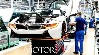 Download CAR FACTORY : BMW i8 PRODUCTION l ASSEMBLY LINE Video