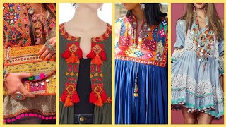 Download Latest And Most Stylish Kurti,Afghani Frocks,boho Fashion,Boho chic,Stylish Frocks Ideas For Girls Video