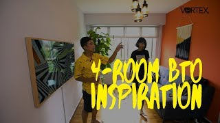 Download STAY | Singapore HDB 4-Room BTO Inspiration | House Tour | Property Video