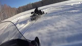 Download Снегоход YAMAHA VK540 покатушки сезон 2016-2017 Video