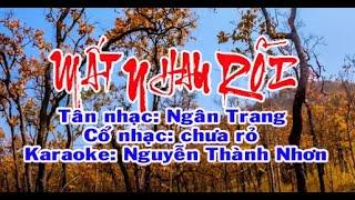 Download Karaoke tân cổ giao duyên MẤT NHAU RỒI - SONG CA Video