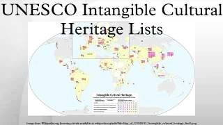 Download UNESCO Intangible Cultural Heritage Lists Video