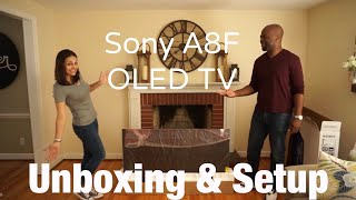 Download Sony A8F OLED TV Unboxing & Initial Setup 2018 Model Video