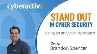 Download Stand out in cyber security using an analytical approach to your work Video