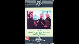 Download Opening to How to Marry a Millionaire 1982 VHS [20th Century-Fox Video] Video