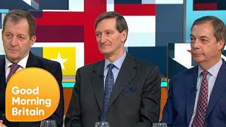 Download Nigel Farage and Alastair Campbell Clash in Heated Brexit Debate | Good Morning Britain Video
