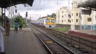 Download Old & New Fast Express Western Railway Trains Passing Santacruz Station and Malad Station in Mumbai, Video