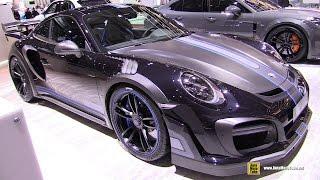 Download 2017 Porsche 911 Turbo S TechArt GT Street R - Exterior Interior Walkaround - 2017 Geneva Motor Show Video