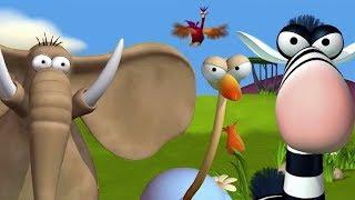 Download Animaux Sauvage Dans La Jungle  Dessins animés drôles pour enfants par Gazoon Video