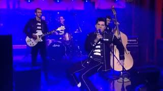 Download HD Cody Ray Slaughter Jailhouse Rock Live on David Letterman Video