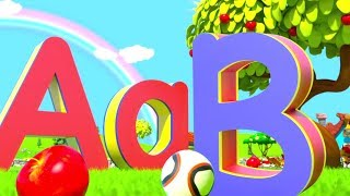 Download A for Apple - Learn ABC Phonics Song & Nursery Rhymes by Little Treehouse Video