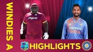 Download West Indies A vs India A - Match Highlights | 3rd ODI 2019 | India A Tour of West Indies Video