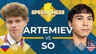 Download Vladislav Artemiev vs. Wesley So: 2019 Speed Chess Championship Semifinals Video