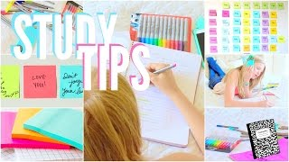 Download The best study tips + organization tips! Video