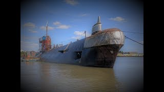 Download Soviet Submarine on the River Medway. Inside was a Surprise! Video