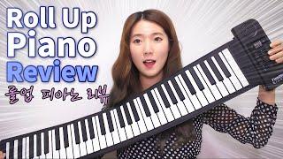 Download ENG)접을 수 있는 피아노?! 롤업 피아노 리뷰   허지영 Heojeeyoung Video