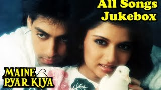 Download Maine Pyar Kiya - All Songs Jukebox - Salman Khan & Bhagyashree - Old Hindi Songs - Evergreen Hits Video