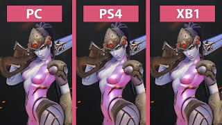 Download Overwatch – PC vs. PS4 vs. Xbox One Graphics Comparison Video