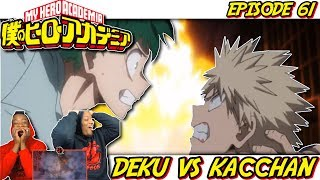 The BAKUGOU VS DEKU REMATCH    Did My Hero Academia Ep 61 Live Up To