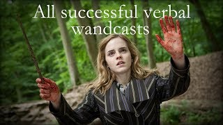 Download All Verbal Spells (successfully wand-casted ones, that is) [REMADE] - Harry Potter 1-8 Video