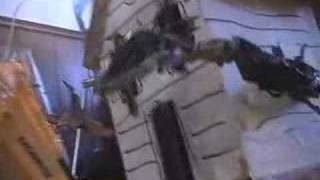 Download 1999 (?) Monster House Climax Action Figure Animatic Video
