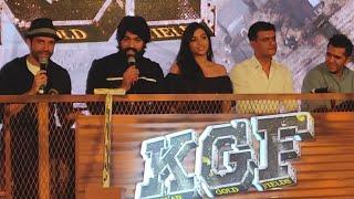 Download KGF Trailer 2 Mumbai PRESS CONFERENCE   Yash, Srinidhi Shetty, Farhan Akhtar, Ritesh Sidhwani Video
