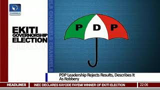 Download PDP Leadership Rejects Ekiti Election Results, Describes It As Robbery Pt.1 |News@10| 15/07/18 Video