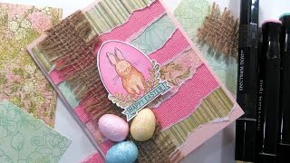 Download Happy Easter Bunny Card // Alcohol Marker Coloring for Beginners Video