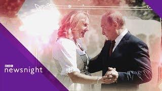 Download Why did Vladimir Putin attend the Austrian FM's wedding? - BBC News Video