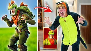 Download BEST FORTNITE SKINS IN REAL LIFE CHALLENGE!! (Fortnite Skins In Real Life) Video
