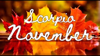 """Download SCORPIO """"The return of the same old issues"""" November 2019 Tarot Reading Video"""