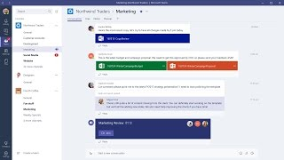 Download Microsoft Teams (preview) Versus Outlook Groups Video