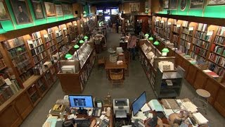Download Rare bookstore still thriving in New York City Video