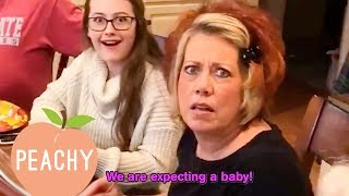 Download 56 Awesome Ways To Tell Everyone ″We're Pregnant!″ Video