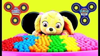 Download Best Learn Colors Video FIDGET SPINNERS Baby Skye Eat Gumballs PAW PATROL Video